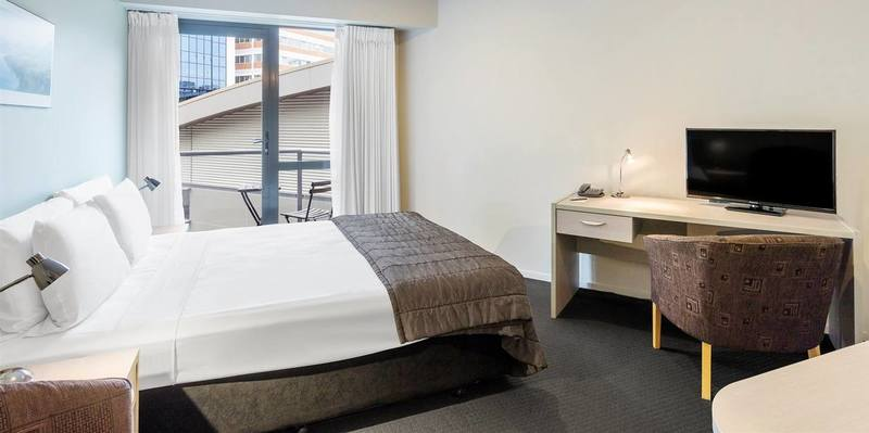 Downtown Studio hotel room