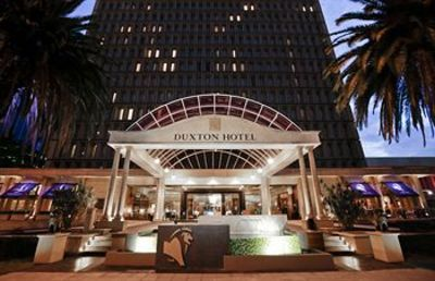 Duxton Hotel Entrance