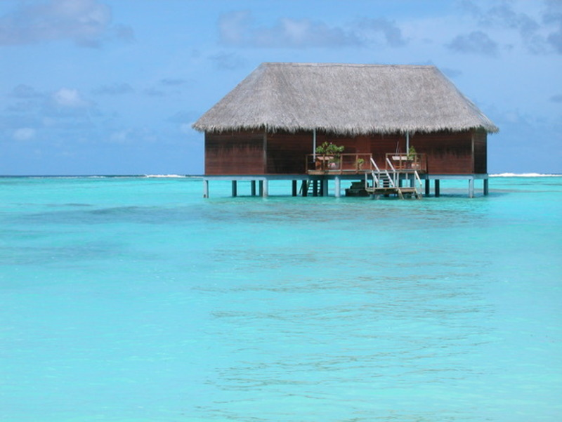 Overwater bungalow Tahiti