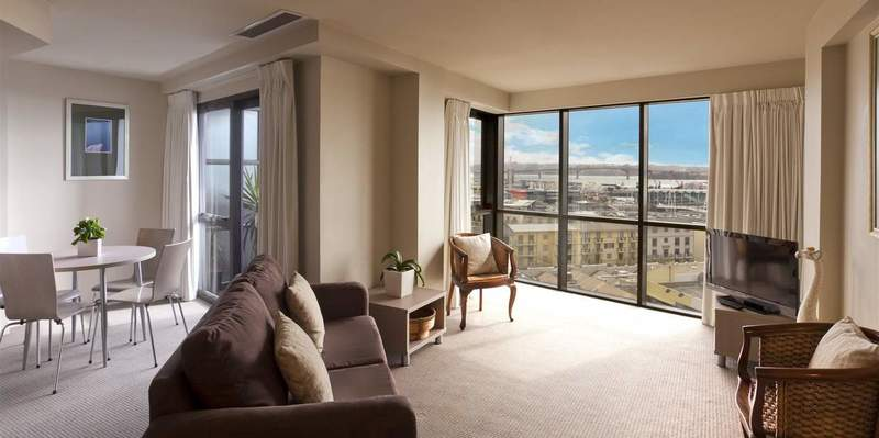 Downtown Studio hotel room  - Hotel Grand Chancellor Auckland City